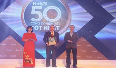 FPT 8 năm liền lọt Top công ty niêm yết tốt nhất của Forbes Việt Nam